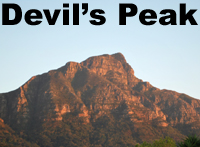 Click on page link button to go to Devil's Peak page by Martin Lovis.